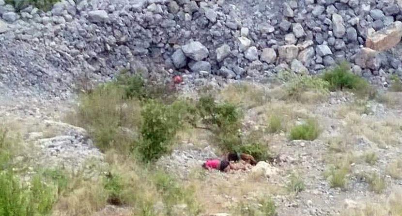 ENCUENTRAN LOS CUERPOS EN UN BARRANCO DE CINCO MUJERES QUE HABÍAN SIDO PLAGIADAS