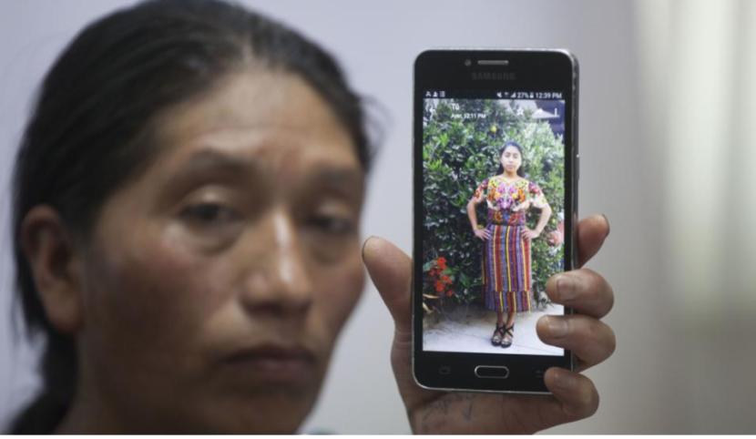 CLAUDIA GÓMEZ, LA JOVEN DE GUATEMALA QUE MATÓ DE UN DISPARO EN LA CABEZA UN AGENTE DE PATRULLA FRONTERIZA EN  EU