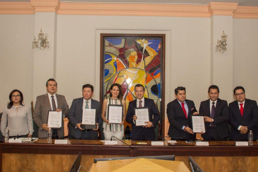 TLALNEPANTLA E INSUS FIRMAN CONVENIO EN MATERIA DE DESARROLLO URBANO