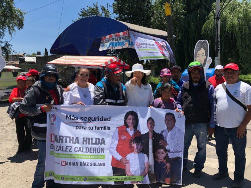TRABAJARÉ PARA EMPODERAR A LAS COMUNIDADES  INDÍGENAS: MARTHA HILDA GONZÁLEZ CALDERÓN