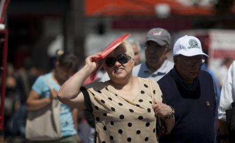 SEGUIRÁ ONDA DE CALOR SOBRE LA MAYOR PARTE DEL TERRITORIO NACIONAL