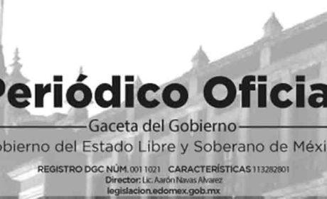 PUBLICAN EN GACETA MEDIDAS A FAVOR DE LA IGUALDAD DE GÉNERO