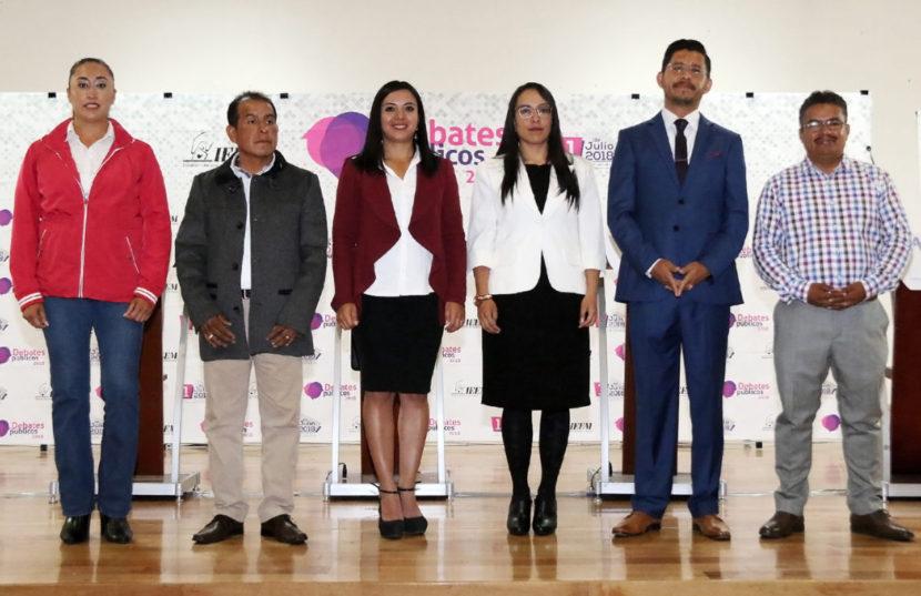 CANDIDATAS Y CANDIDATOS EXPONEN PROPUESTAS PARA MEJORAR SEGURIDAD EN XONACATLÁN
