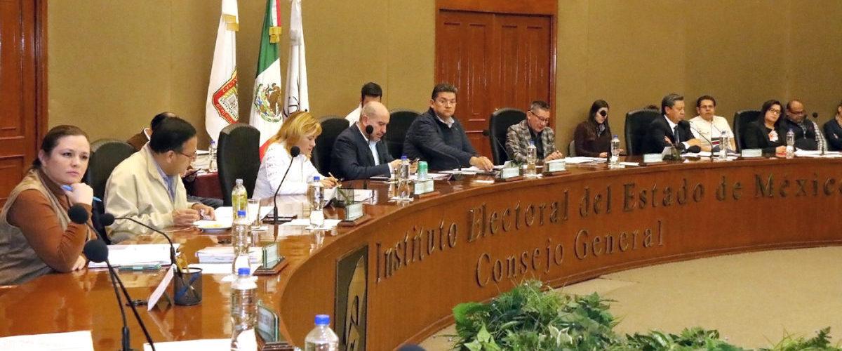 SOLICITA IEEM APOYO PARA EL PROCESO ELECTORAL