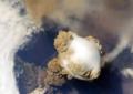 NASA: IMÁGENES DE COMO SE VE EL VOLCÁN DE FUEGO DESDE EL ESPACIO