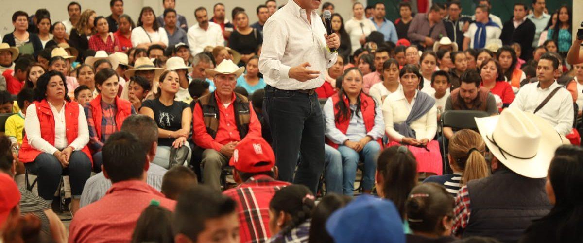 EL PRI CRECE ANTE LA ADVERSIDAD: CÉSAR CAMACHO QUIROZ