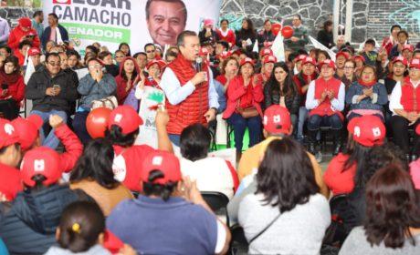 LLAMA CAMACHO A NO DESFALLECER EN EL COMPROMISO DE HACER MEJOR A MÉXICO