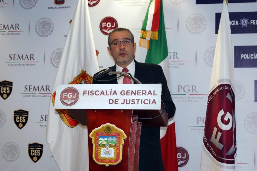 DETIENE FGJEM A PRESUNTO HOMICIDIO DE UN COMANDANTE DE ESTA INSTITUCIÓN