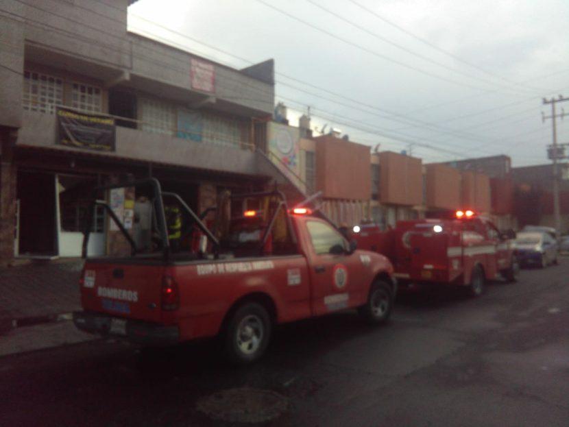 FLAMAZO EN SANTAMARÍA TOTOLTEPEC, TOLUCA