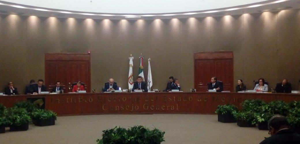 LLAMA IEEM A AUTORIDADES A GARANTIZAR ELECCIONES PACÍFICAS