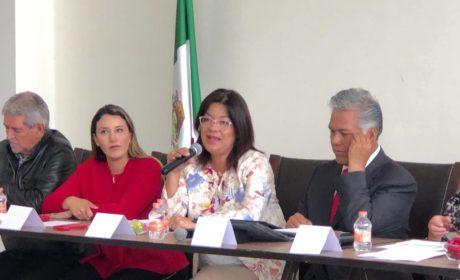 SE PRESENTARÁ UNA INICIATIVA DE LEY SOBRE GRUPOS DE PREVENCIÓ CONTRA LA DELINCUENCIA: MARTHA HILDA