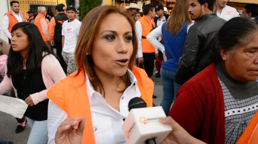 RUTH SALINAS CERRÓ CAMPAÑA A DIPUTADA FEDERAL