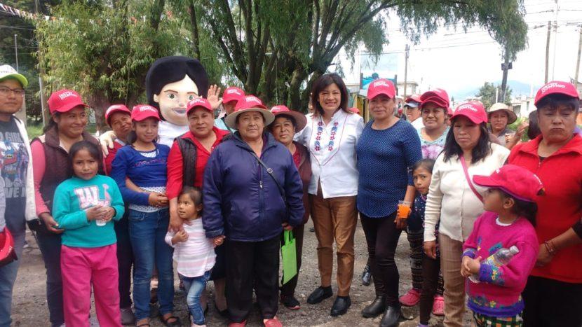 EL PRI, LA MEJOR OPCIÓN PARA LA CIUDADANIA: MARTHA HILDA GONZÁLEZ CALDERÓN