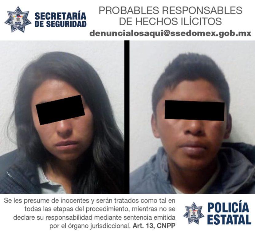 DETIENE SECRETARÍA DE SEGURIDAD A PROBABLES NARCOMENUDISTAS