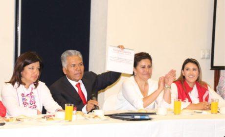 FERNANDO ZAMORA Y MARTHA HILDA PRESENTAN AGENDA DE TRABAJO 2019-2021