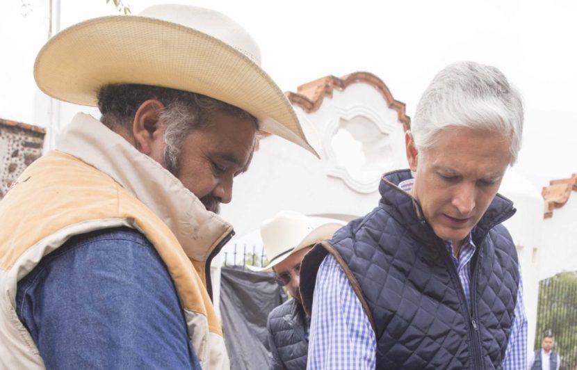 RESPALDA GOBERNADOR LABOR DE PRODUCTORES DE CEBADA DE LA ENTIDAD