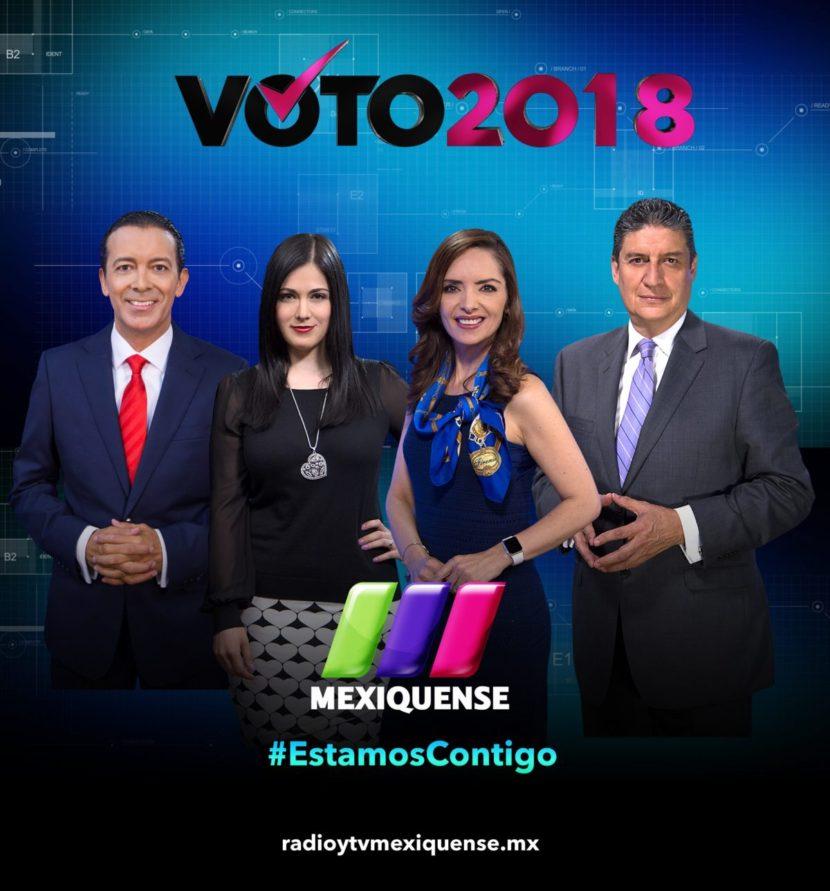 RADIO Y TELEVISIÓN MEXIQUENSE TRANSMITIRÁ ININTERRUMPIDAMENTE JORNADA ELECTORAL