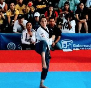 DANIELA RODRÍGUEZ GANA EL PRIMER ORO PARA MÉXICO EN BARRANQUILLA 2018