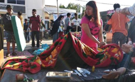 AL MENOS 14 MUERTOS Y 162 HERIDOS POR TERREMOTO EN INDONESIA