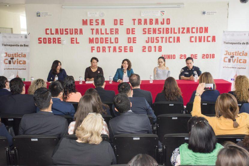 TLALNEPANTLA A LA VANGUARDIA EN JUSTICIA CÍVICA