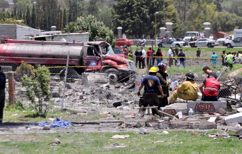 AUMENTAN A 24 LAS VÍCTIMAS FATALES POR POLVORÍN EN TULTEPEC