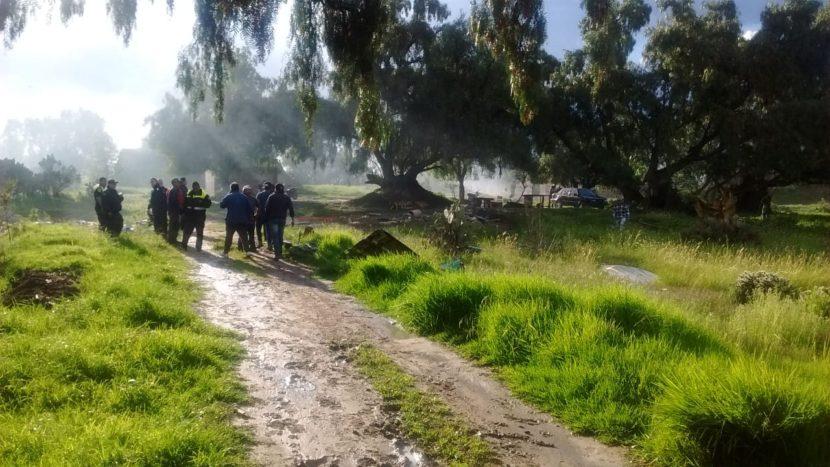 EXPLOTA POLVORÍN EN ZUMPANGO: UN MUERTO Y DOS HERIDOS