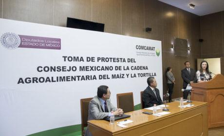 TANYA RELLSTAB TOMA PROTESTA AL CONSEJO MEXICANO DE LA CADENA  AGROALIMENTARIA DEL MAÍZ Y LA TORTILLA