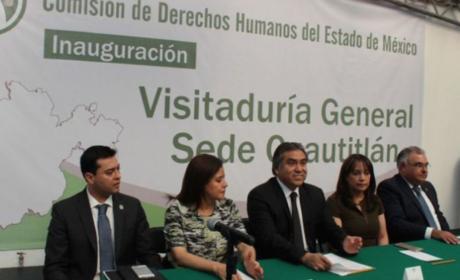 ENTRAN EN OPERACIÓN CINCO NUEVAS  VISITADURÍAS ADJUNTAS DE LA CODHEM