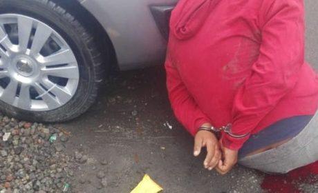 DETIENE LA FGJEM A PROBABLE EXTORSIONADOR TRAS ENFRENTAMIENTO EN CHICOLOAPAN