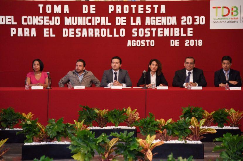 TOMA PROTESTA SECRETARIO DE OBRA PÚBLICA AL CONSEJO MUNICIPAL DE LA AGENDA 2030 DE TLALNEPANTLA