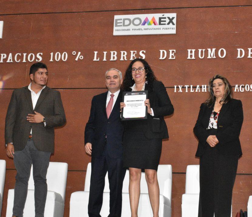 AUMENTAN EN EDOMÉX 20 POR CIENTO ESPACIOS LIBRES DE HUMO DE TABACO
