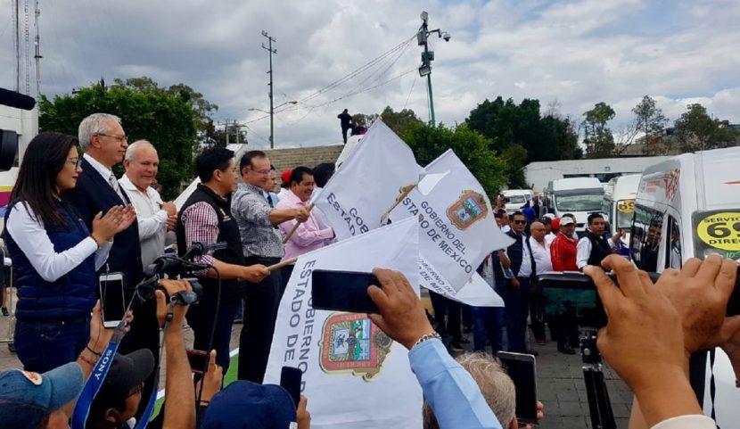 PONEN EN CIRCULACIÓN 500 NUEVAS UNIDADES DE TRANSPORTE PÚBLICO CON SISTEMAS DE SEGURIDAD INTEGRADO