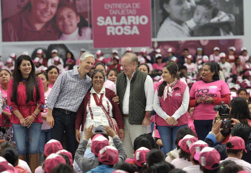 SALARIO ROSA, MUESTRA DE CONFIANZA AL TRABAJO DE AMAS DE CASA: ALFREDO DEL MAZO