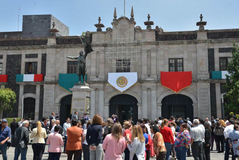 PARTICIPÓ LA 60 LEGISLATURA MEXIQUENSE EN MACROSIMULACRO DE SISMO