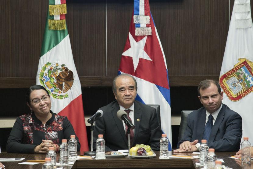 RECIBEN LEGISLADORES MEXIQUENSES VISITA DE REPRESENTANTES CUBANOS