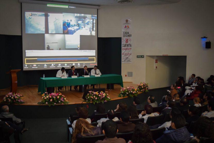 PREPARA SECRETARÍA DE SALUD A ESPECIALISTAS MEXIQUENSES PARA ATENDER INFARTOS