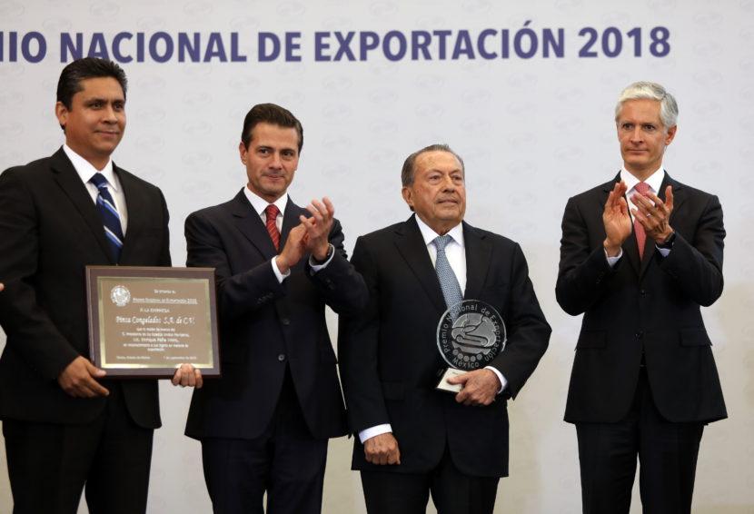 ES EDOMÉX SÉPTIMA ECONOMÍA EXPORTADORA DEL PAÍS: ALFREDO DEL MAZO