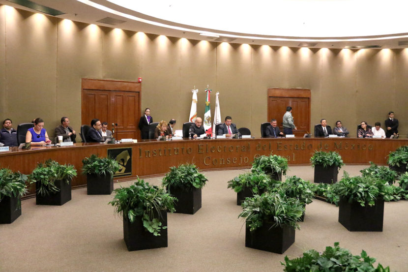 PRESENTA SECRETARÍA EJECUTIVA DEL IEEM  INFORME DE ACTIVIDADES