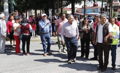 ENTREGA FERNANDO ZAMORA OBRAS HIDRÁULICAS EN LA MORA Y LA PALMA