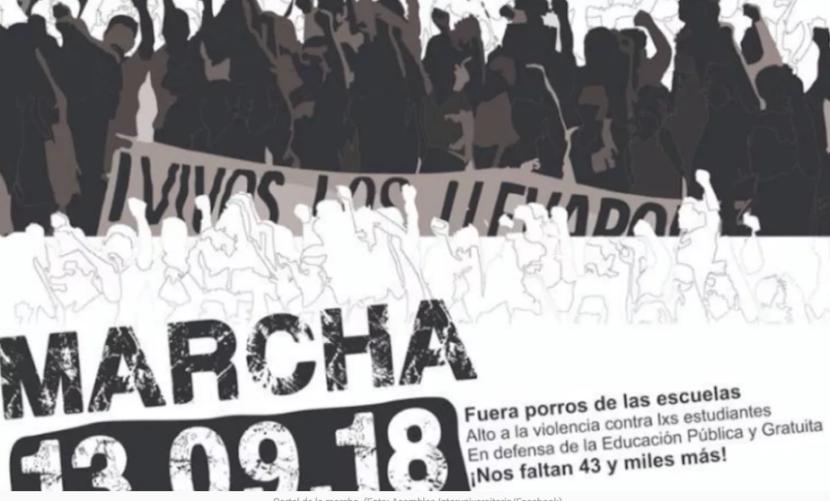 RUTA Y HORARIO DE LA MARCHA UNAM PARA HOY
