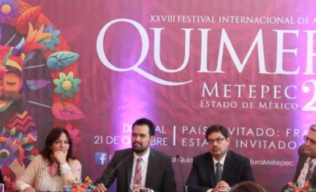 SERÁN 260 LAS ACTIVIDADES QUE CONFORMAN EL FESTIVAL QUIMERA 2018