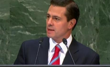 PEÑA NIETO DA COMO PRESIDENTE, SU ÚLTIMO DISCURSO EN ASAMBLEA GENERAL DE LA ONU