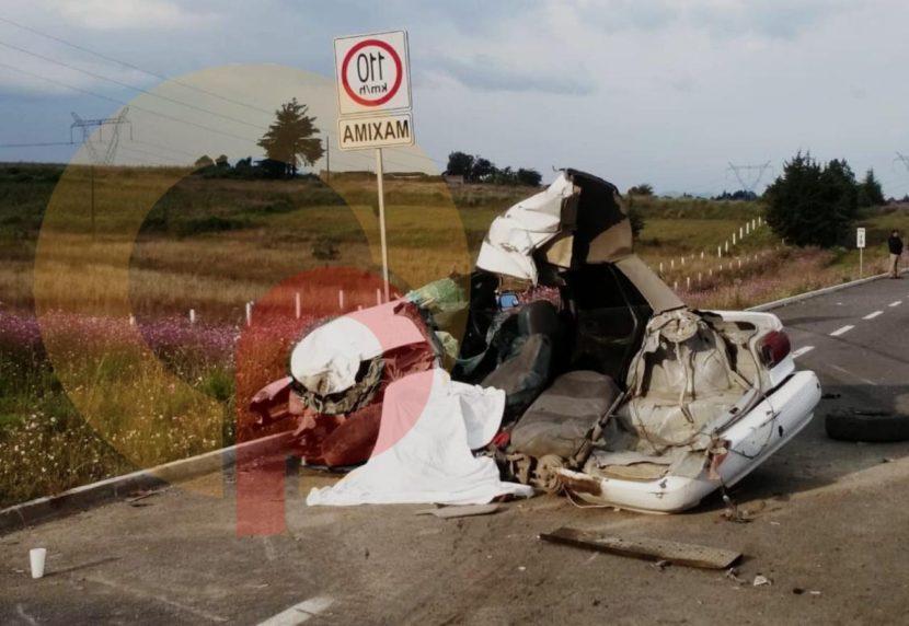 FATAL ACCIDENTE DEJA UN MUERTO EN LA TOLUCA-ZITACUARO