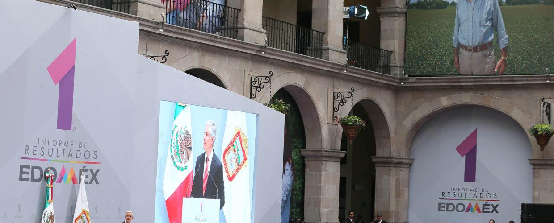 CON FIRMEZA TRABAJAMOS PARA QUE LOS MEXIQUENSES TENGAN MEJORES CONDICIONES DE VIDA: ALFREDO DEL MAZO