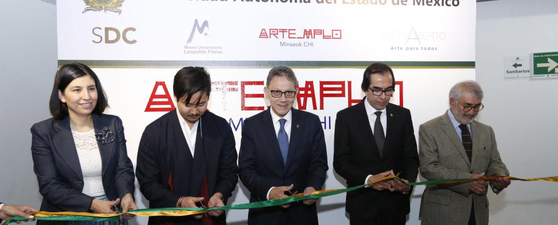 "ALFREDO BARRERA INAUGURÓ ""ARTE_MPLO"""