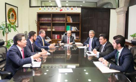 CONTINÚA DIÁLOGO EN LA JUCUPO PARA INTEGRAR  LAS COMISIONES LEGISLATIVAS