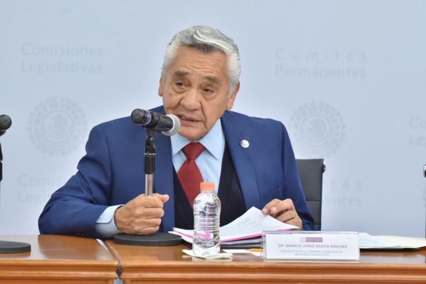 URGE ATENCIÓN AL PROBLEMA DEL AGUA: JORGE GARCÍA