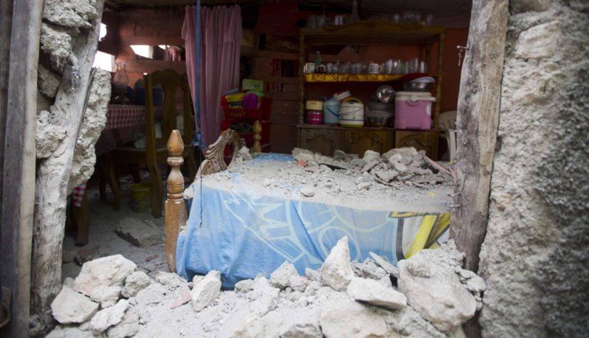 TERREMOTO DE MAGNITUD 5,9 SACUDE HAITÍ, HAY AL MENOS 14 MUERTOS