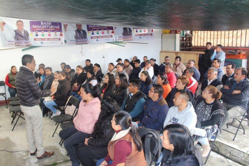 No a la Ley ISSEMyM: Manuel Uribe