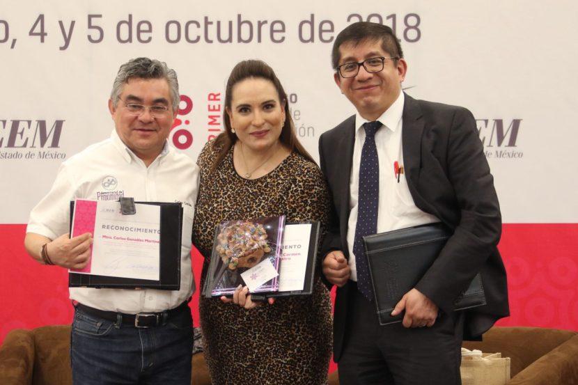 CONCLUYE CON ÉXITO PRIMER CONGRESO DE PARTICIPACIÓN CIUDADANA: IEEM